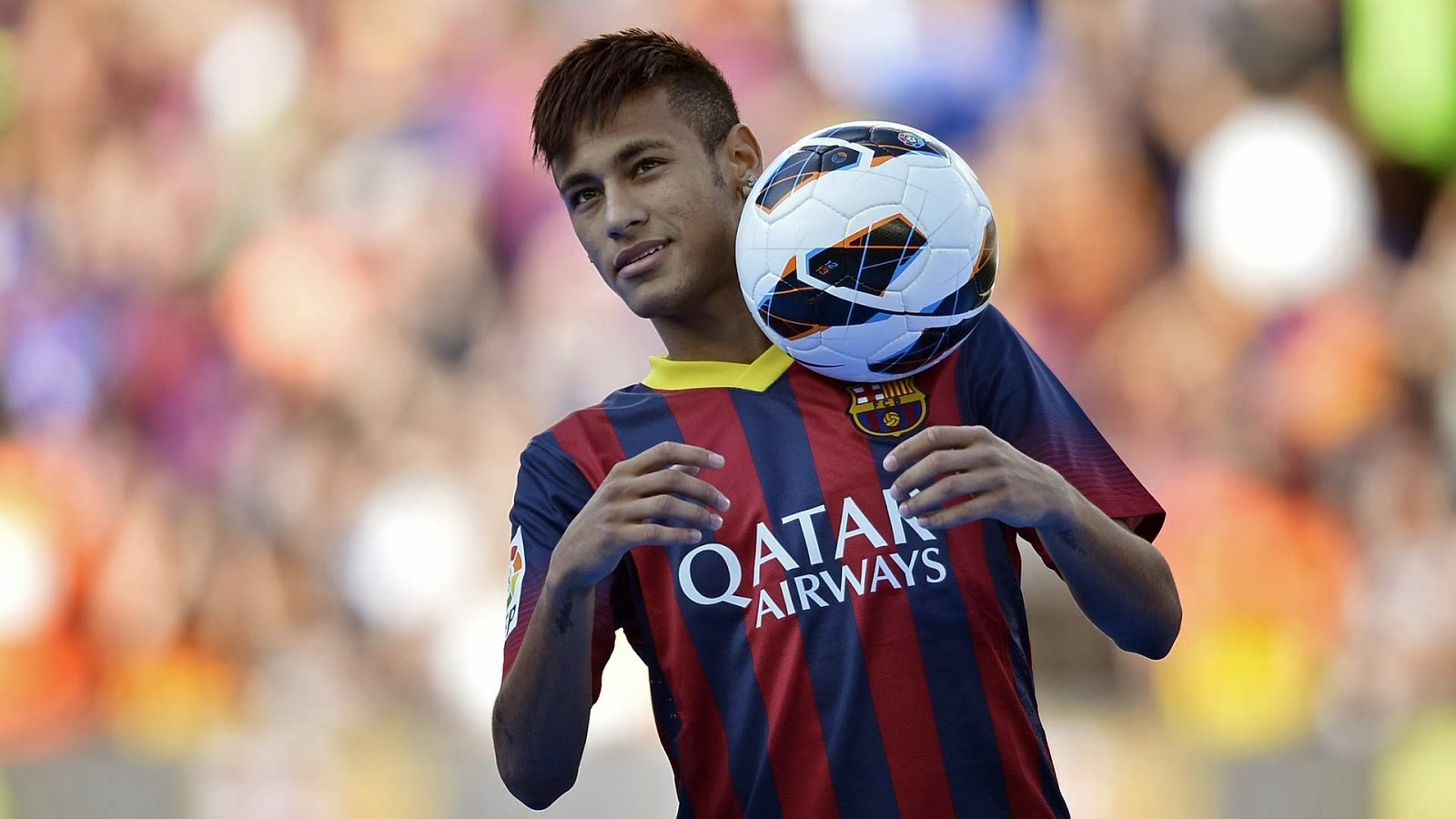 Neymar jr the best bacelona football player hd wallpaper