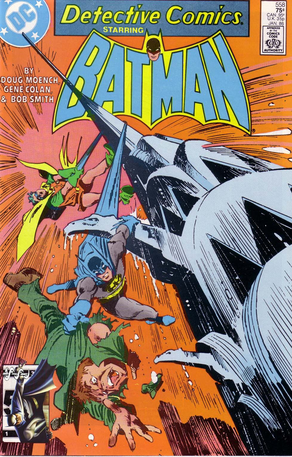 Detective Comics (1937) 558 Page 1