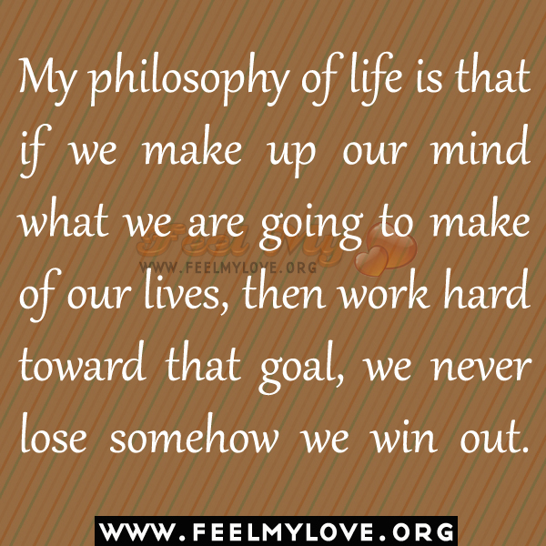meaning of life philosophy essay