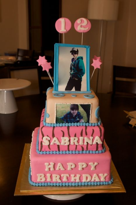 Justin Bieber Birthday Cakes Damn Cool Pictures