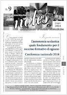 NOTES  9 - 2018  - Notiziario Aimc
