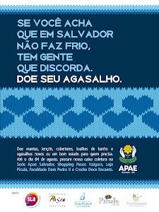 Doe agasalho para Apae Salvador