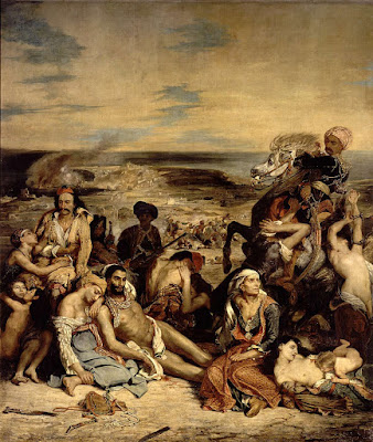 Delacroix Massacre of Chios