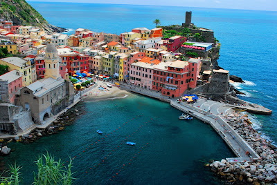 Wonderful shot at Cinque Terre