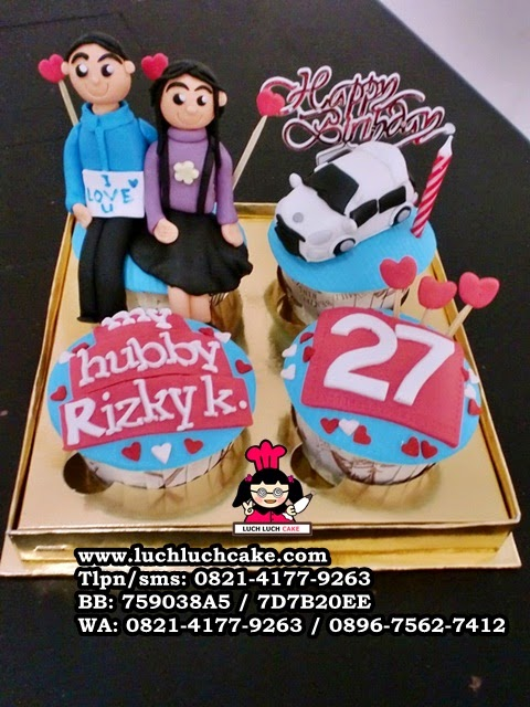 Cupcake Birthday Untuk Pacar Daerah Surabaya - Sidoarjo