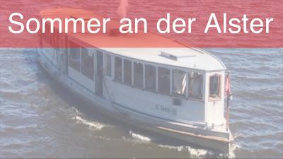 Sommer an der Alster