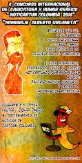 PATROCINE/DONE EL 3 CONCURSO INTERNACIONAL DE CARICATURA Y HUMOR GRAFICO - NOTICARTUN 2016