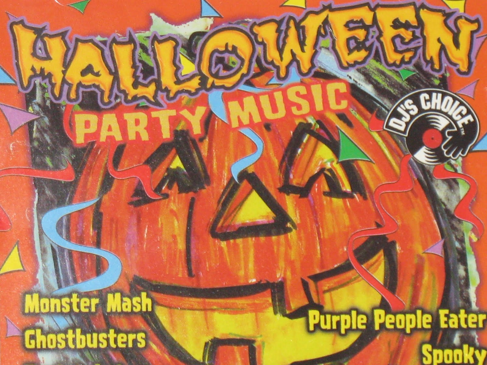 Michael Doherty's Music Log: Halloween Party Music CD Review