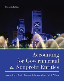 accounting for governmental nonprofit entities Accounting for governmental nonprofit entities seventeenth edition  jacqueline l reck, phd  cpa james e and c ellis rooks distinguished  professor in.