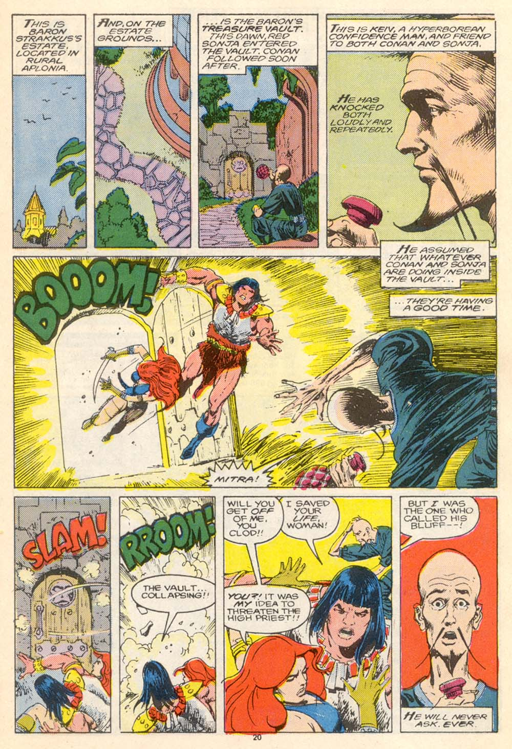 Conan the Barbarian (1970) Issue #205 #217 - English 21
