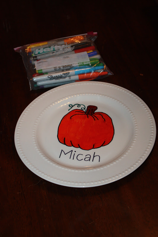 & Christy: DIY Personalized Plates