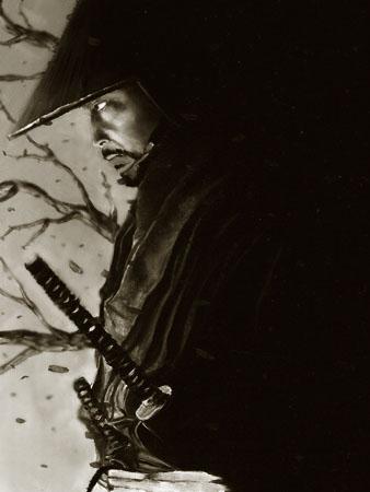 Samurai Illustrations