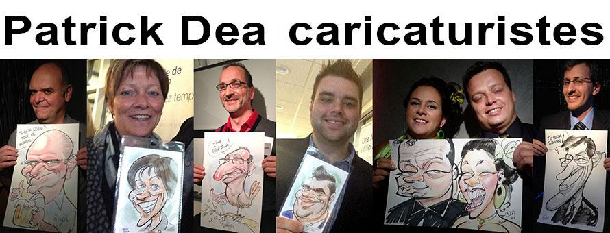 Patrick Dea Caricaturistes