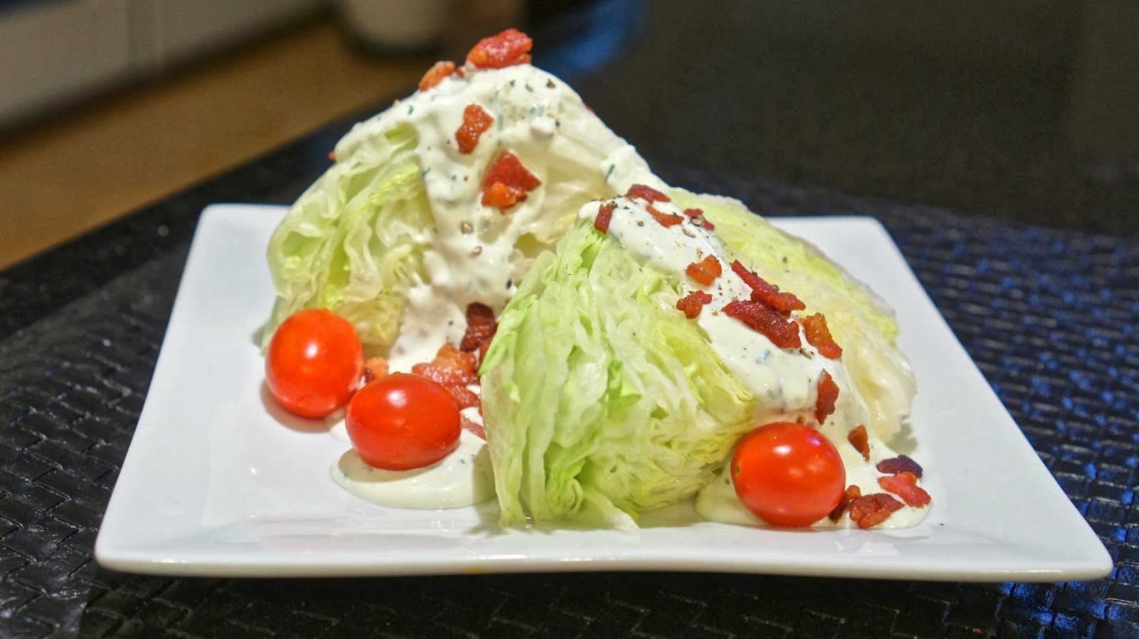 ... . Fashion. Home.: BLT Salad with Homemade Buttermilk Ranch Dressing
