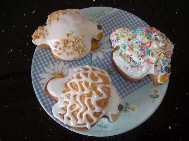 Le torte di lara colombine con glassa reale - Decorazioni torte con glassa ...