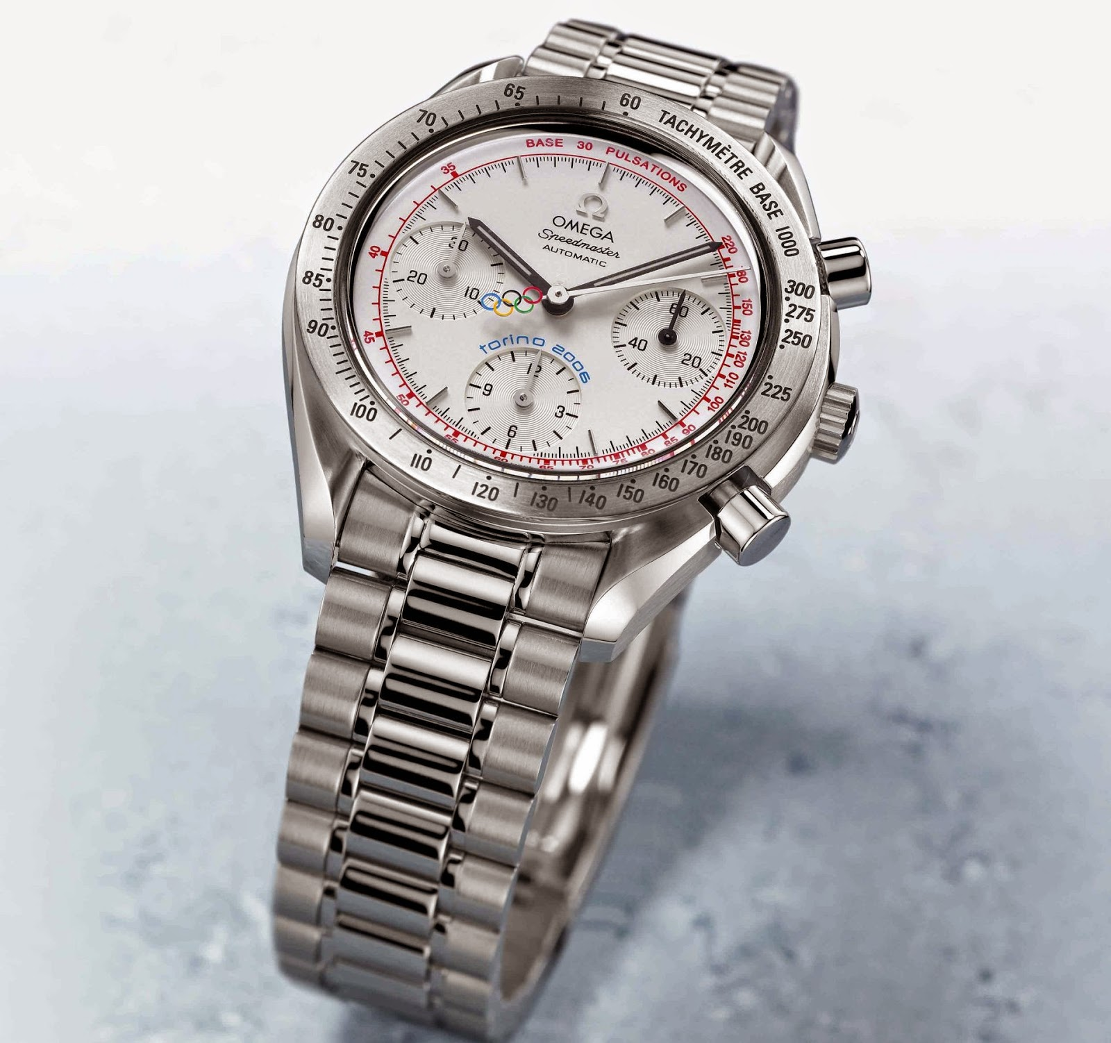 OMEGA Torino 2006 replica watch