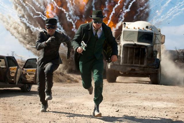 Green Hornet - scena d'azione
