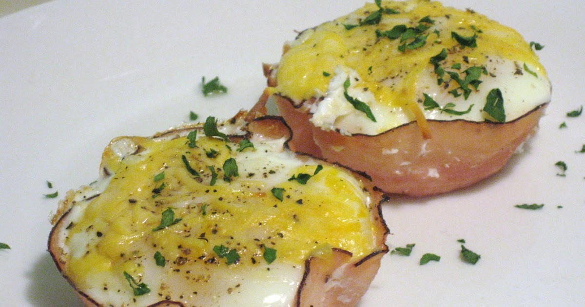 Baked Ham And Egg Cups Delectameals