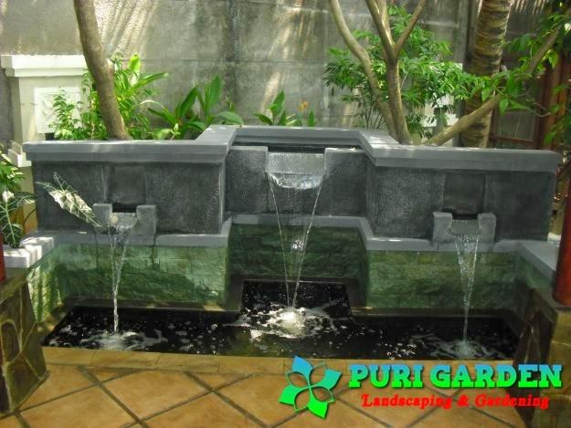 kolam minimalis jasa taman tukang taman jakarta