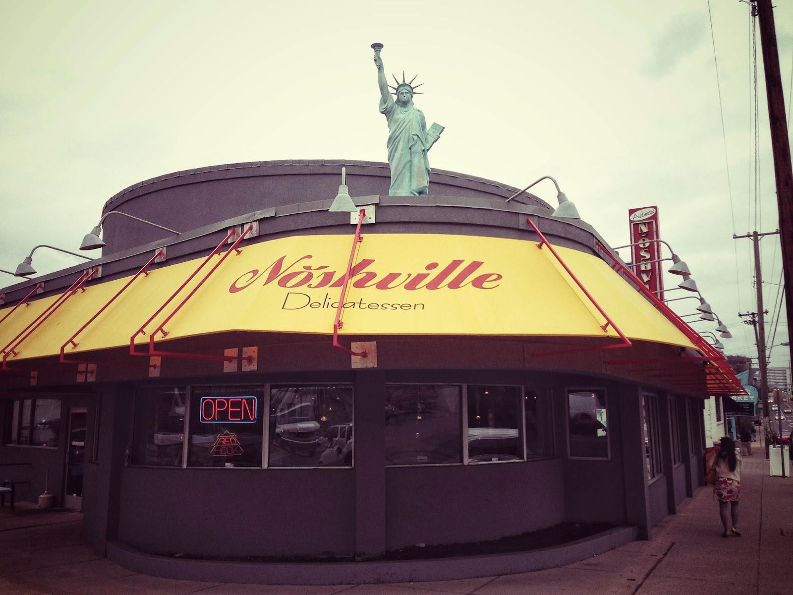 Noshville Delicatessen located in Nashville Tennessee