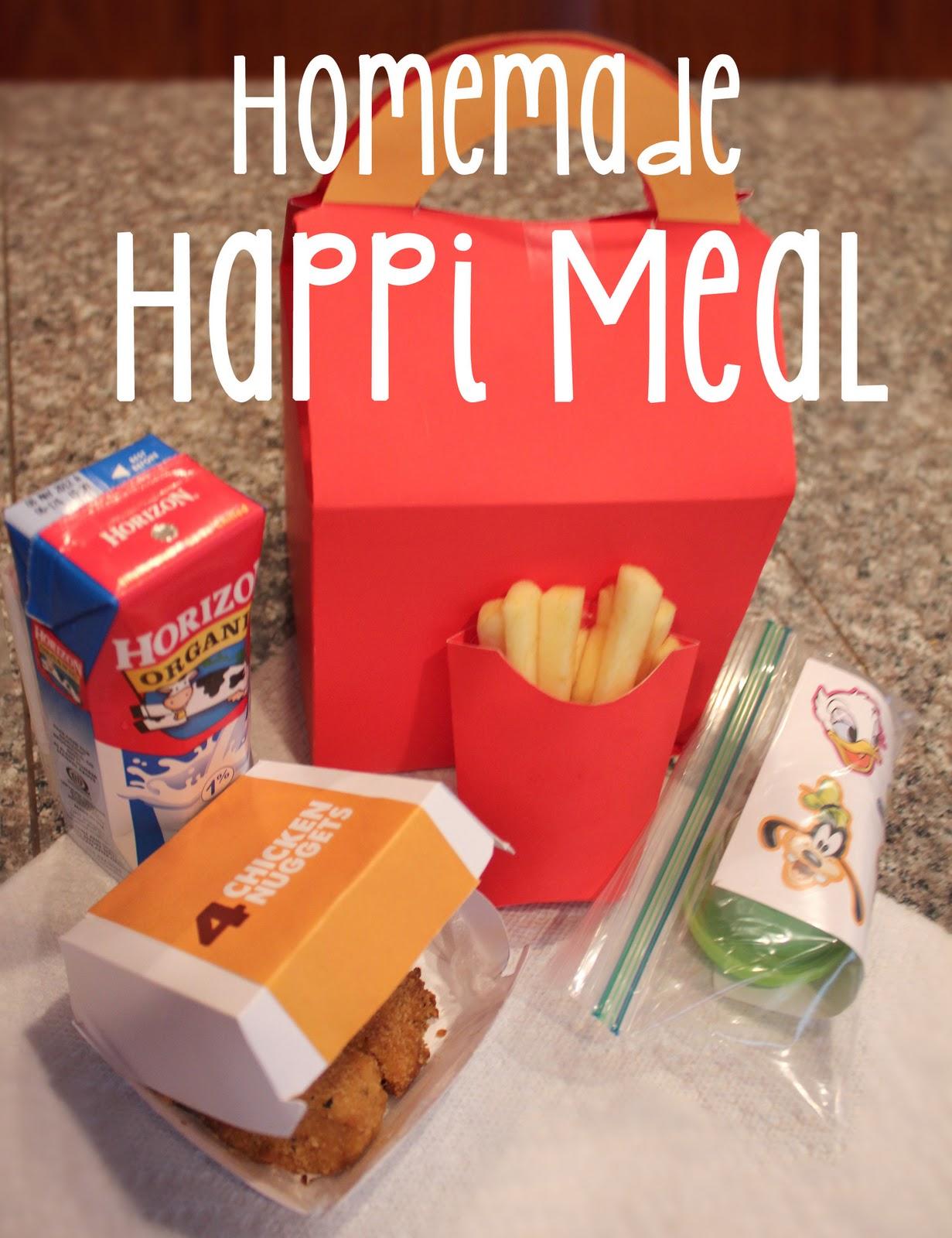 Homemade Happi Meal