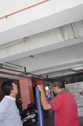 9.11.2011 Medan Cahaya 水管爆裂了,迟迟未处理