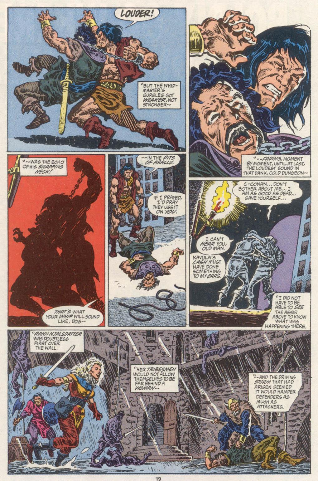 Conan the Barbarian (1970) Issue #254 #266 - English 16
