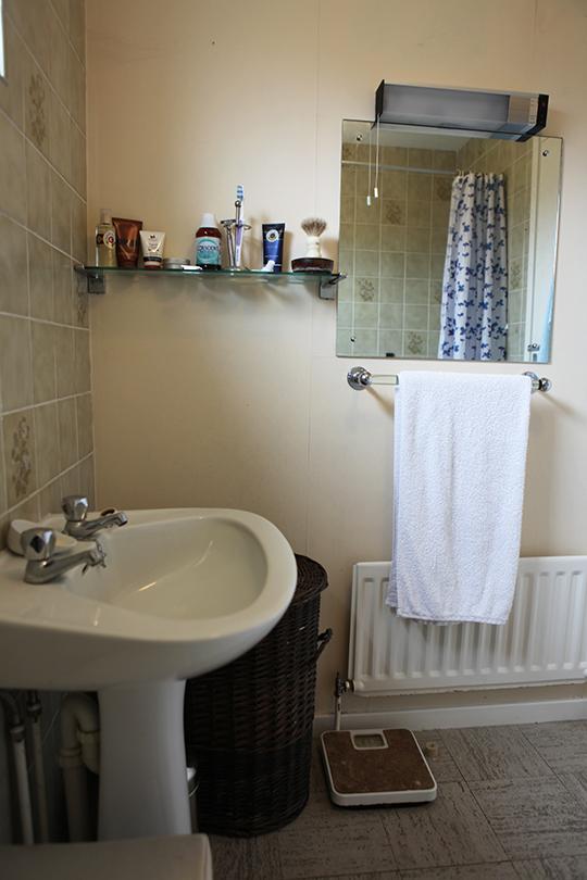 Bathroom Sinks Under Windows umi sushi makes: bathroom revamp: meet the bathrooms
