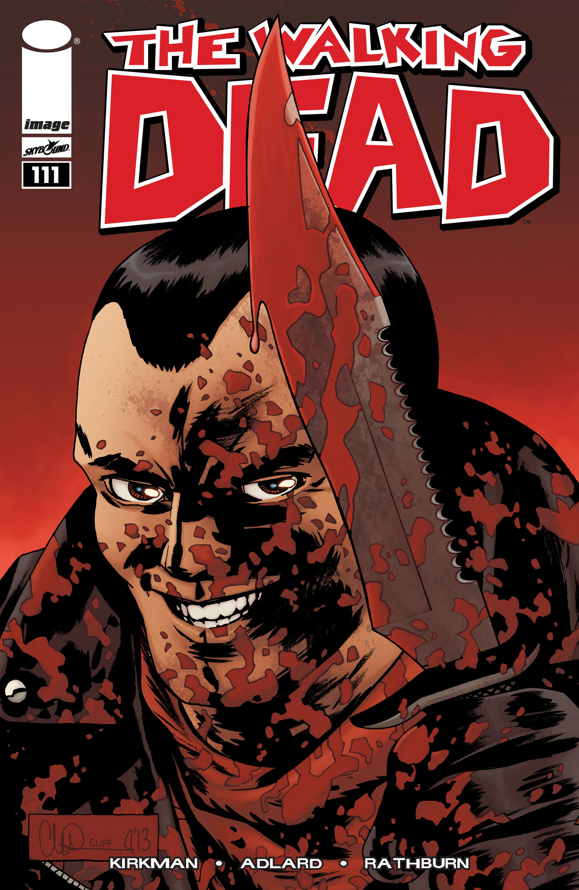 The Walking Dead 111 Page 1