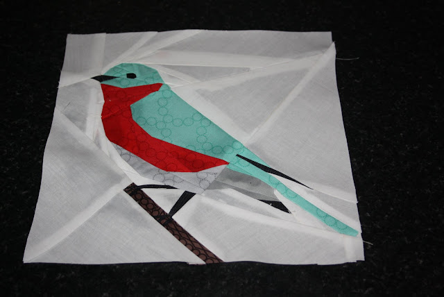 paper -pieced -bird