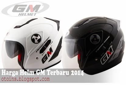 Rincian Daftar Harga Helm GM Terbaru 2015