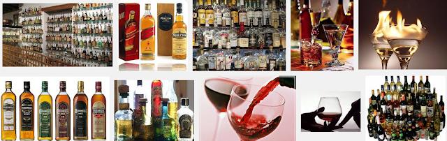 Народные способы определения подделки алкоголя.