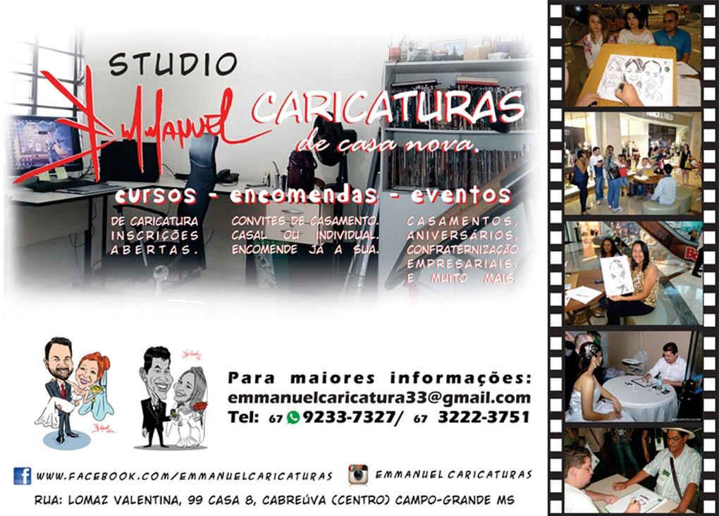 Emmanuel Merlotti - Encomendas e Caricaturas Ao Vivo em Eventos