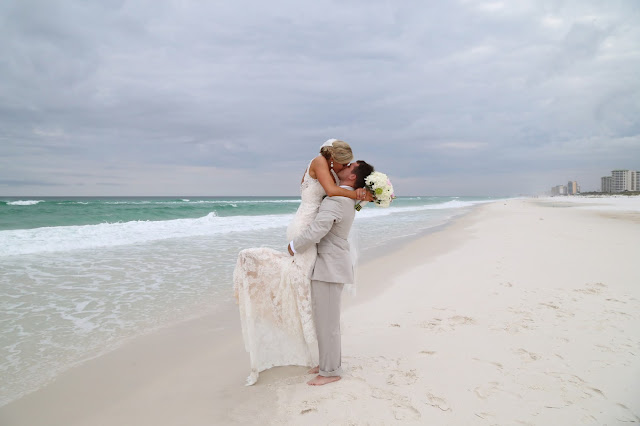 beach wedding packages for Destin Beach weddings at Henderson State Park