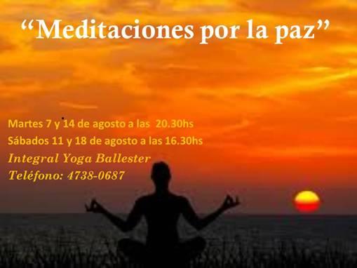 Meditaciones por la paz