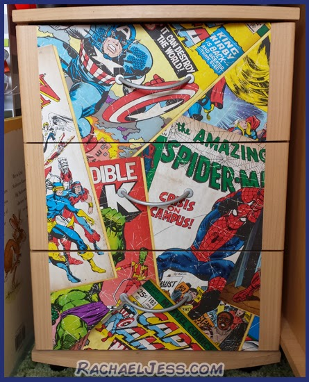 creating #marvel themed bedroom furniture - a diy and lifestyle