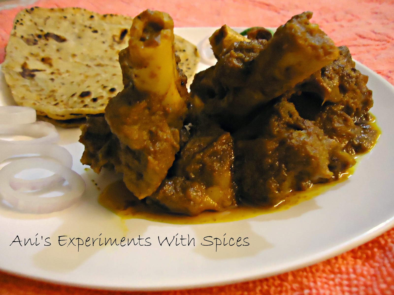 anis experiments with spices golbarir kosha mangsho