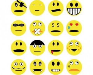 Smileys shortcuts for facebook chat short keywords sms 140 words