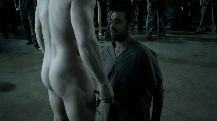 Male Celeb Screencaps: Joseph Gatt Naked Rear In Banshee S01E06