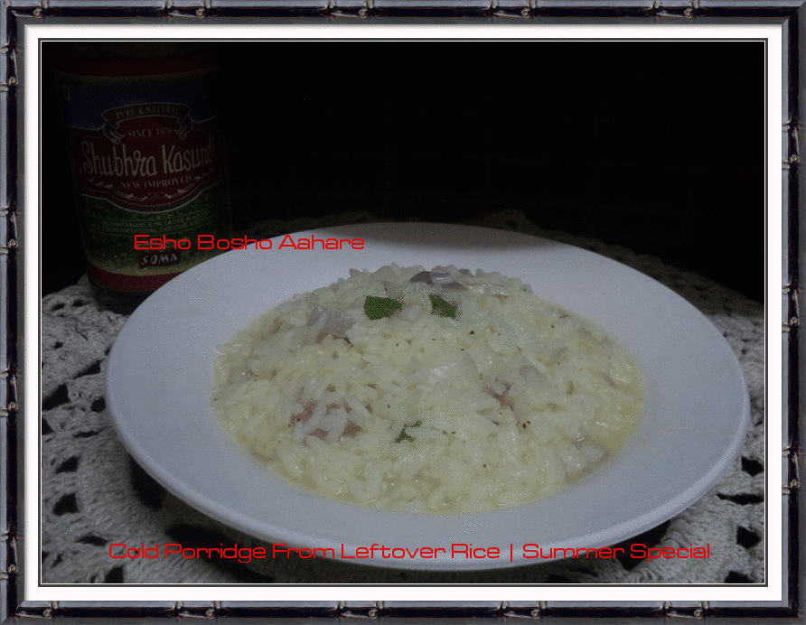 how to make rice porridge with cooked rice
