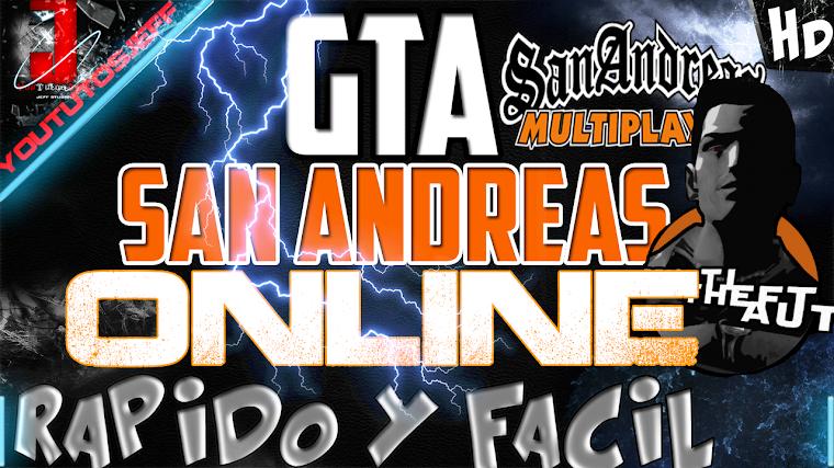 COMO JUGAR GTA SAN ANDREAS ONLINE | 2015