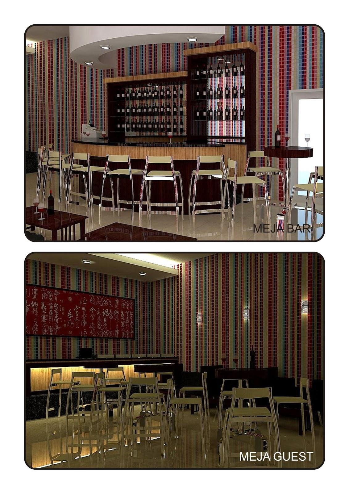 Desain Pub Kafe