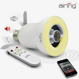 Bombilla Altavoz Bluetooth