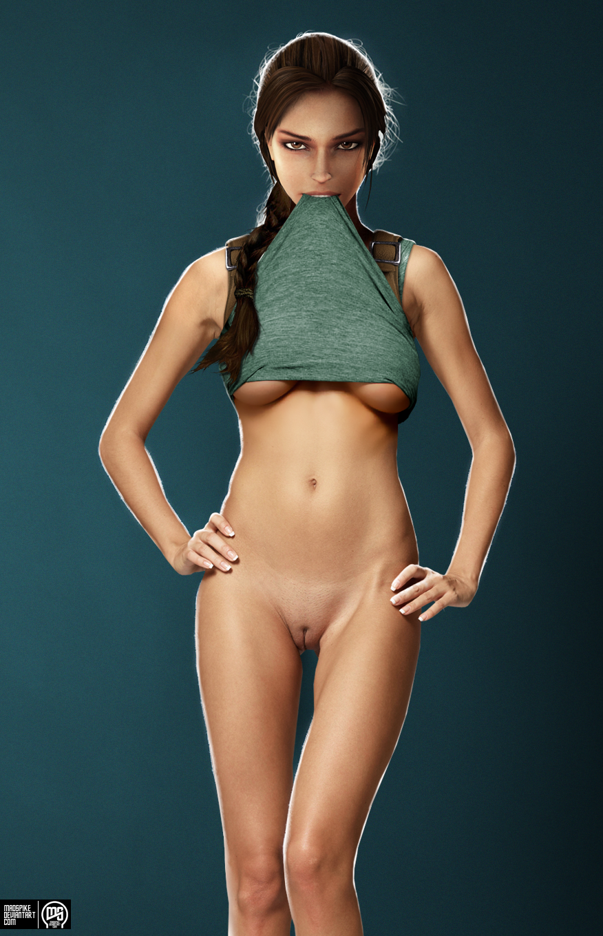 lara croft a naked