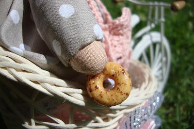 Текстильные зайцы ручной работы
