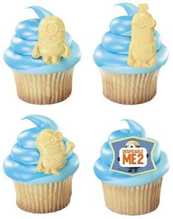 despicable me 2 cupcake toppers