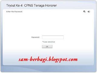 Tryout CPNS Tenaga Honorer