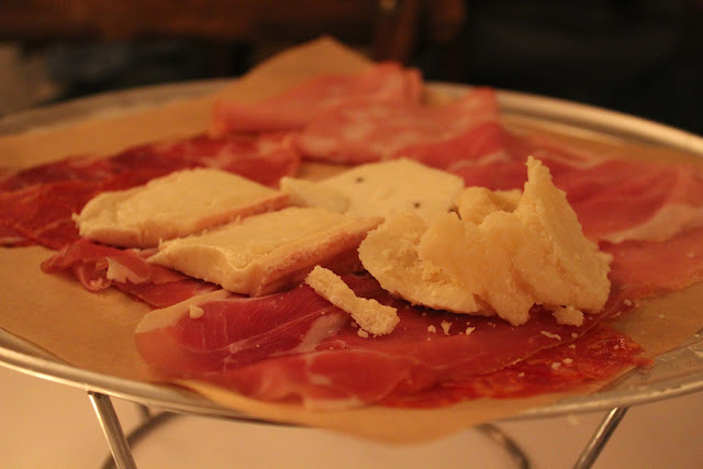 Salumi and formaggi at Ballo at Mohegan Sun