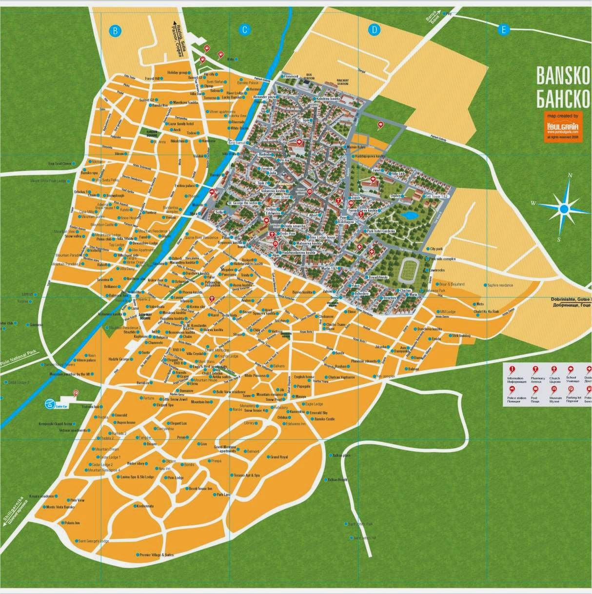 Карта / Carte