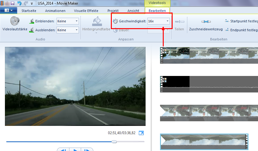 how to make a timelapse video with windows movie maker
